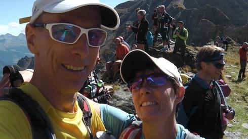 Col d'Arp Summit Selfie