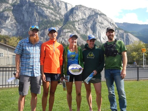 Podium Finish! With RD Gary Robbins, Adrienne Dundar (2nd), Kaytlyn Gerbin(1st), me (3rd) and RD Geoff Langford